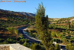 (Nick Kout) Tags: life road autumn trees sky mountains green nature beauty nice nikon calm greece crete 1855 nikkor heraklion 2012 d80