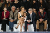 Patrick Demarchelier, Jennifer Lopez, her daughter Emme Maribel Muniz, Casper Smart, Baptiste Giabiconi and Kanye West Paris Fashion Week