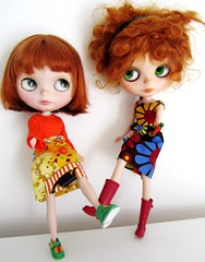 Orange girls