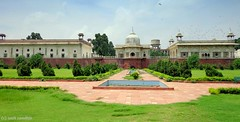 Musamman Burj and Dilli Chalo Park (Smit Sandhir) Tags: park vijay garden gate mahal behind dilli masjid burj redfort ghat chalo rang shantivan darwaza musamman deewanekhas