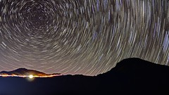 (Patri-Wang) Tags: night landscape star nikon taiwan trails    gettyimages startrails