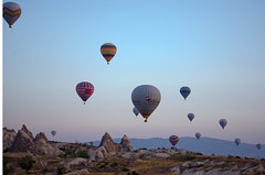 Cappadocia Sunrise (C-Dals) Tags: sky sunrise turkey nikon hotairballoon nikkor cappadocia goreme 1855mmf3556gvr d5100 trip2012