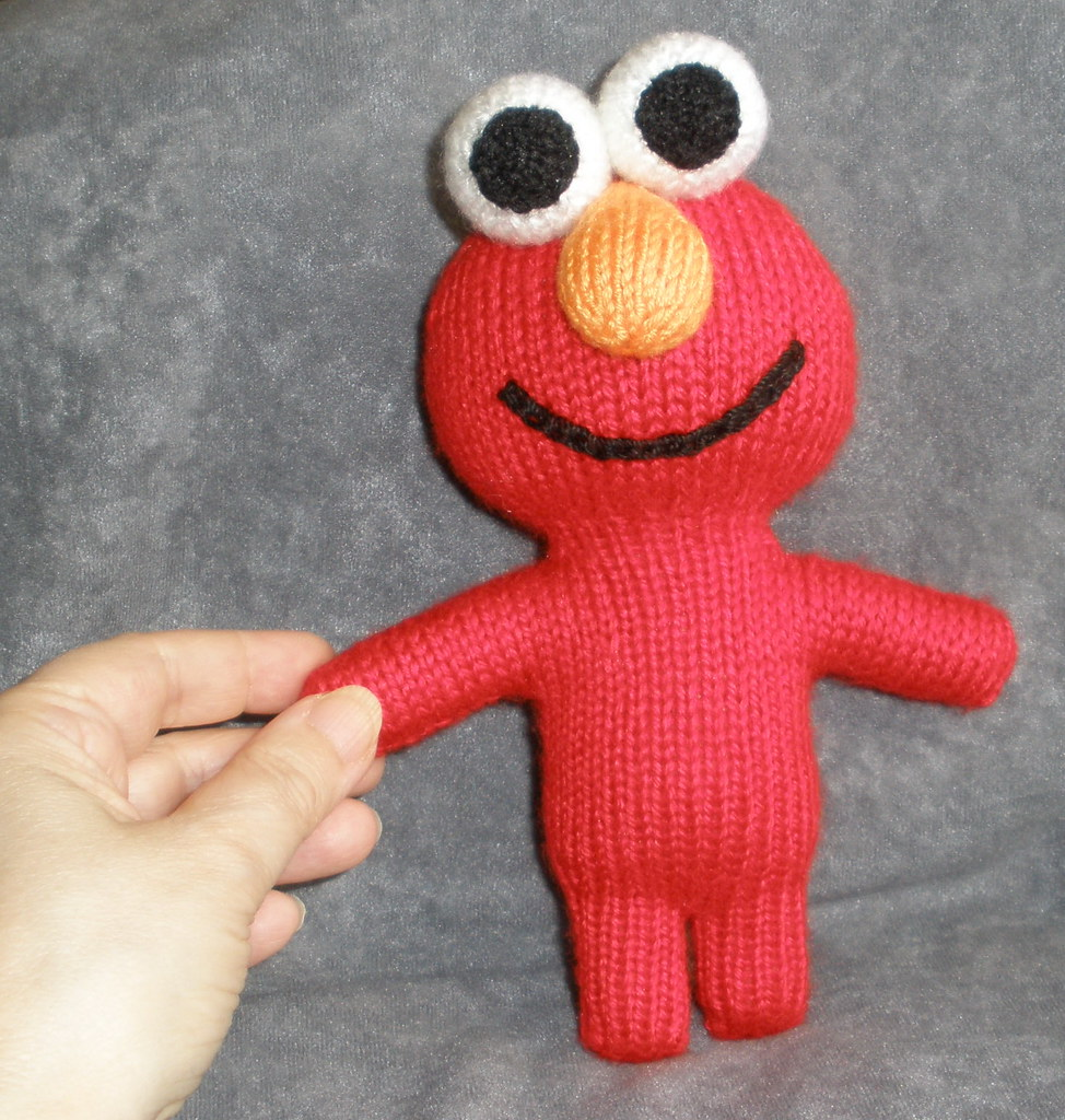 The worlds best photos of amigurumi and street flickr hive mind new elmo for dorothy theknittycat tags christmas street red holiday cute knitting pattern bankloansurffo Gallery