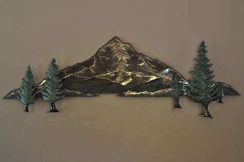 Mt. Hood Steel Sculpture, 2012