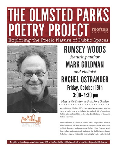 The Olmsted Parks Poetry Project: Featuring Mark Goldman and Rachel Ostrander