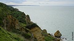 'La Falaise' prs de Longues-sur-Mer (Basse-Normandie) (2015-09-04 -14) (Cary Greisch) Tags: france calvados fra falaises bassenormandie lafalaise carygreisch manvieux