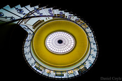 Nelson Stair (Explored 02/08/16) (Daniel Coyle) Tags: spiralstaircase spiral nelsonstair somersethouse embankment london lookingup staircase danielcoyle nikond7100 d7100 nikon uk england