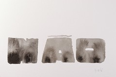 No (Ivan Jernimo) Tags: caligrafia calligraphy indiaink tintachina encredechine nanquim aguada calligraphie kalligraphie brazilian artist florianpolis monochromatic art