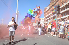 BHCC LGBT Workers Forum Brighton Pride Procession 2016 (The Lilac Bonzai) Tags: httpwwwcatalinabalancouk brighton pride 2016 gay rainbow dragon samba brightonandhove lgbt golden sea serpant calalina z balan hove city council workers forum womens network disabled careres sanctury voices exile hummingbirds project thenewunionflag loverefuges inclucion love joy welcome citybythesea gaypride rainbowdragon bagpipes smiles happy