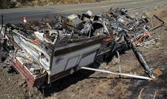 Melt Down (maytag97) Tags: maytag97 fire rv recreationalvehicle totalloss destroyed burn burned destruction tragic