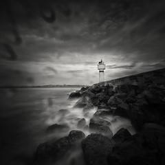 ! (Yucel Basoglu) Tags: istanbul turkey lighthouse longexposure fineart seascape waterscape bnw blackwhite blackandwhite