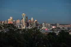 Good night Seattle (jeff's pixels) Tags: seattle night spaceneedle city landscape photo light mount rainer wheel key arena washington puget sound