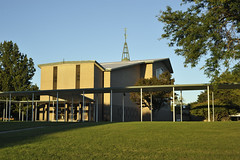 St. John Vianney Chapel (Michael Daum) Tags: nikon d700 50mmf18af seminary nature walk 60s architecture nxd