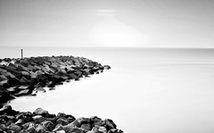 PM1 (jisimartin) Tags: nikon d610 long exposure black white seascape tenerife canarias