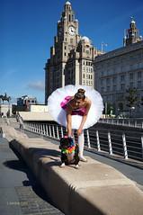 DSC06404 (liverpix) Tags: cleo dog performing anthonywalsh photowalk 500px liverpool pierhead liverbuilding ballerina ballet