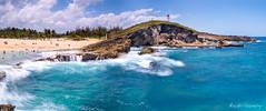 Poza del Obispo (NorthN) Tags: arecibo puerto rico beach rocks seascape panorama travel caribbean