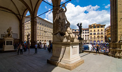 _DSC3629 (durr-architect) Tags: florence italy arno river bridge city historic architecture palazzo vecchio piazza della signoria loggia lanzi sculpture statue marble art david michelangelo tourists outdoor column tower uffici museum road duomo kathedral building7