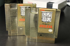 The Legend of Zelda (Fl Dechen) Tags: zelda nintendo nes cartridge