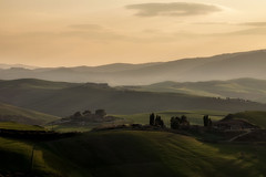 Fog on the hills of Volterra (gionatatammaro) Tags: collinetoscane volterra hills alberi trees nikond610