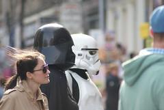 Edinburgh Festival Fringe (Secondcity) Tags: edinburgh edinburghfestivalfringe starwars stormtrooper darthvader