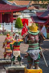 The Warriors (HansPermana) Tags: semarang indonesia jateng jawatengah temple sampookong chinese pray red architecture historic old building holy culture