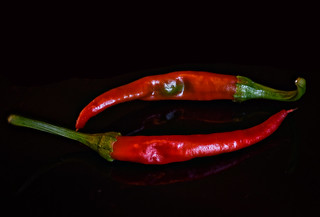 Hot Cayenne Peppers