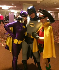 (goldenticket76) Tags: burtward yvonnecraig adamwest batgirl robin cosplay costume 66batman batman