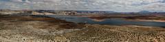 Lake Powell Panorama (Inanimate Carbon Rod) Tags: canon 70d az arizona page glen canyon dam lake powell panorama