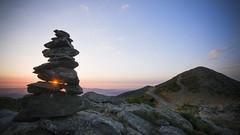 Escletxa... (JESS PUIGMART i SNCHEZ) Tags: barcelona catalunya montseny unesco mountain sunrise albada amanecer mediterrani angular