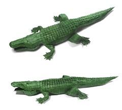 American Alligator ( 256ths version ) - Michael Lafosse (Mariano Zavala B) Tags: american alligator 256ths version michael lafosse caimn