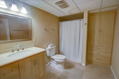 The Downstairs Bathroom (jayklosinski) Tags: vacation rental northwoods snowmobiling skiing atv wisconsin michigan
