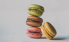 Stacked macarons (WillemijnB) Tags: macarons colours food dessert sweet sucr