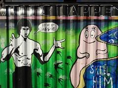 NDSM Werf, Amsterdam (mirandaruiter330) Tags: barbapappa brucelee ndsmwerf amsterdam streetart graffiti