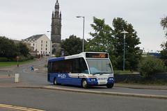 McGill's - SV04 HLM (G7279) (MSE062) Tags: mcgills glasgow scotland greenock single decker bus optare solo stagecoach bluebird g7279 7279 sv04hlm sv04 hlm 47078 aberdeen highlands low floor
