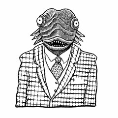 Spiffy (Don Moyer) Tags: alien creature spiffy ink drawing notebook moyer donmoyer brushpen