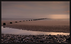Beach at Cleveleys (Yvette-) Tags: beach cleveleys nikond5100