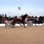 31 - race 11 - Sister Karen (#4) w/ Terry Tomlin, Dear Caterina (#6) w/ Mike Jarvis and Judy's Promise (#3) w/ Carl Putnam Jr thumbnail