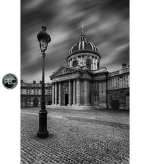 Institut de France - Paris (_PEC_) Tags: bw white black paris france canon de long exposure noir wb nb acadmie l 17 40 usm et blanc institut parisian 2012 manfrotto pec franaise 5dmarkiii