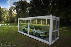 Art car (Joost Smulders) Tags: park holland nature colors museum racecar reflections nederland natuur bmw krollermuller artcar lemans hogeveluwe kleuren roylichtenstein 24hdumans bmw320i