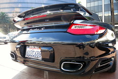 650 mile 2012 Porsche 911 Turbo S Cabriolet in Basalt Black metallic now available for sale in 90210 (PorscheConnection) Tags: black sport ryan lock cab s center spyder hills turbo porsche perrella beverly approved rs 19 connection basalt 2012 cabriolet 997 pccb pdk 2011 2013 530hp
