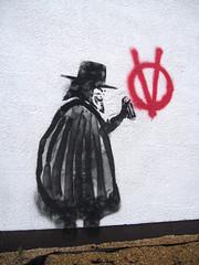 Bristol Graffiti (The Moog Image Dump) Tags: street urban david guy art alan bristol for graffiti paint mask moore v lloyd anonymous vendetta fawkes