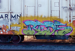 REDS ARMN (missREDS_AM7) Tags: train graffiti trains graff reds freight freights armn am7 amseven fewandfar fewfar