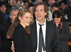 Brett Morgen and guest 56th BFI London Film Festival: 'Rolling Stones - Crossfire Hurricanes', gala screening held at the Odeon Leicester Square - Arrivals. London, England