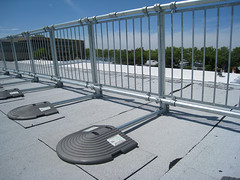KeeGuard Rooftop Fall Protection Railing