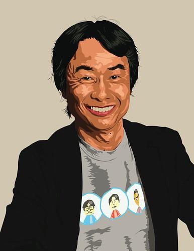Shigeru Miyamoto, obra de carefreecaptain