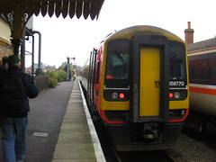 Mid Norfolk Rlway - Multiple Matters Weekend (pnb511) Tags: trains multiple railways units dmu class158 diesels midnorfolkrailway thuxton 158770 eastmidlandtrains