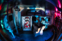 Stuck in Droid Customs (Justin in SD) Tags: canon starwars ride disneyland scene disney line queue wait canon5d hdr themepark droid customs startours disneylandresort canon5dmarkiii 5d3 5dmark3
