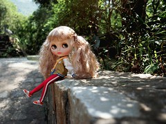 1126 (pixie.monica) Tags: doll rice fake faceplate sally blythe hybrid margo msr scalp