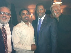Chillin with Judge Myron Duhart and friends.