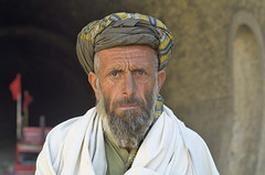 Man from Khojak . (Commoner28th) Tags: old railroad portrait afghanistan man face labor railway tunnel afghan labour turban ahmed wrinkles chaman agha quetta waseem pakistanrailway balochistan pakistanrailways khojak commoner28th sheelabagh